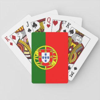 Naipes de la bandera de Portugal