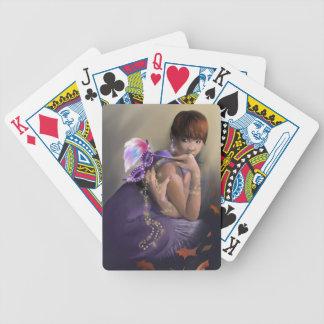 Naipes de la fascinación del otoño barajas de cartas