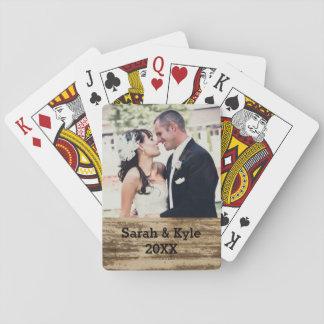 Naipes de la foto del boda