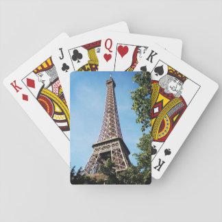 Naipes de la torre Eiffel
