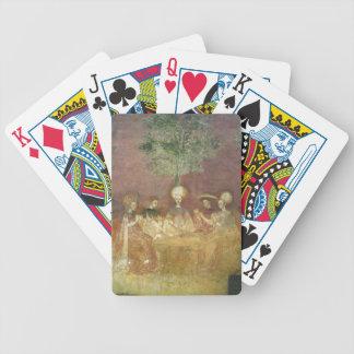 Naipes de los jugadores de Tarocchi Cartas De Juego