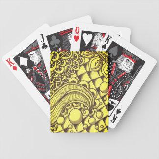 Naipes de oro del póker de Bicycle®