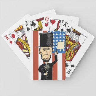 Naipes de presidente Lincoln, estándar