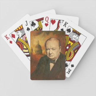 Naipes de Winston Churchill