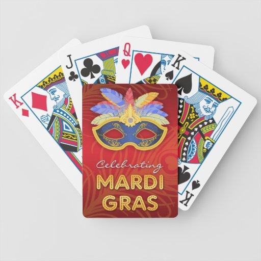 Naipes del carnaval baraja de cartas