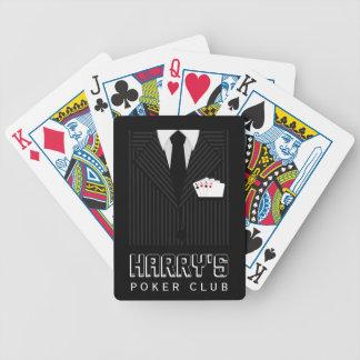 Naipes del club del póker de Bicycle® del juego de Barajas De Cartas