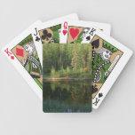 Naipes del personalizado de las reflexiones de la  baraja cartas de poker