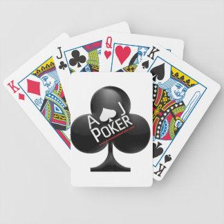 Naipes del póker - póker del drogadicto de la