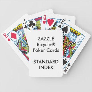 Naipes estándar de encargo del póker de Bicycle®