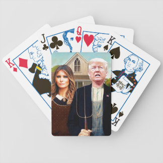 Naipes góticos americanos de la elección 2016