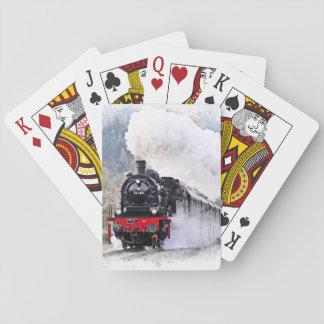 Naipes locomotores del tren