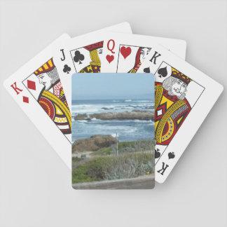 Naipes, Pebble Beach en California Baraja De Cartas