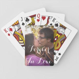 Naipes románticos del amor o del día de San