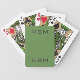 Naipes verdes de MSM