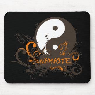 Namaste Yin Yang Alfombrilla De Ratón