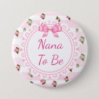 Nana a ser rosas del rosa de botón de la fiesta de