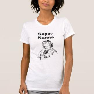 Nanna estupendo que hace punto B&W Camiseta