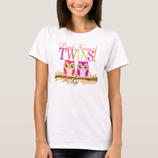 ¡Nanna orgulloso de gemelos! Camisa linda de los