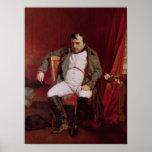 Napoleon después de su abdicación posters