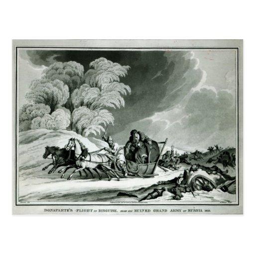 Napoleon en disfraz tarjetas postales