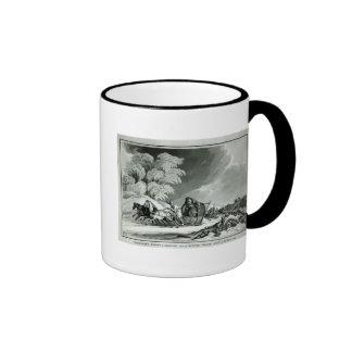 Napoleon en disfraz tazas de café