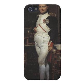 Napoleon en su estudio iPhone 5 funda