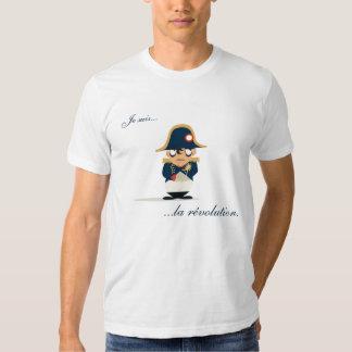 Napoleon es la revolución camisetas