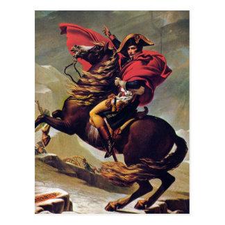 Napoleon que cruza el St Bernard Postal