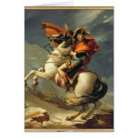 Napoleon que cruza las montañas el 20 de mayo de 1 felicitacion