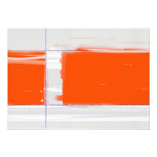 Naranja abstracto anuncios