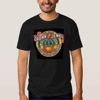 Naranja de la joya de la corona de País de Gales Camisas