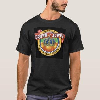 Naranja de la joya de la corona de País de Gales Camiseta