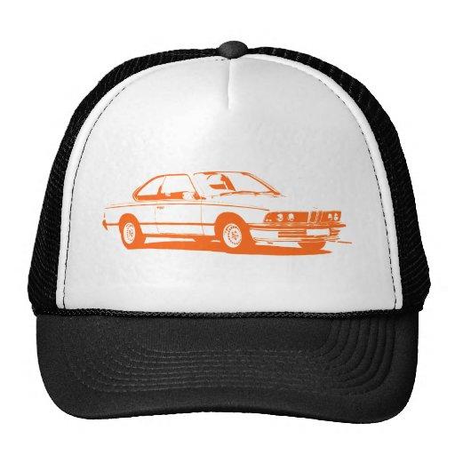 Naranja de la obra clásica de BMW Gorras De Camionero