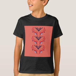 Naranja de Oriente de los ornamentos Camiseta