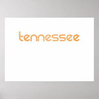 Naranja de Tennessee Póster