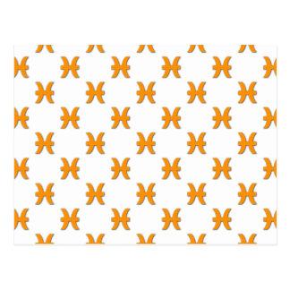 Naranja del modelo de Piscis Postal