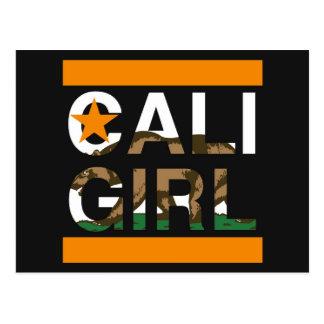 Naranja del representante del chica de Cali Postal