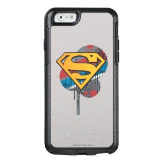 Naranja del S-Escudo el | del superhombre con la Funda Otterbox Para iPhone 6/6s