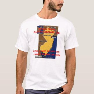 Naranja del sur '05 de las vacaciones de primavera camiseta