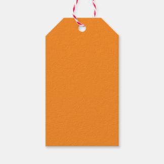 Naranja Etiquetas Para Regalos