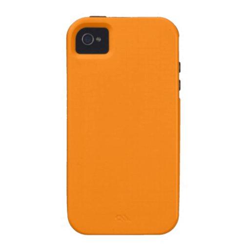Naranja iPhone 4/4S Carcasa