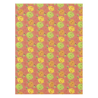 Naranja, limón y cal preciosos lindos del dibujo mantel