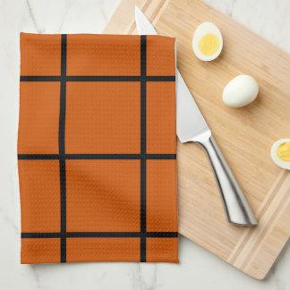 Naranja Paño De Cocina