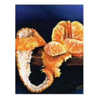 Naranja, pelado postal