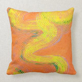 Naranja que hiela la almohada grande
