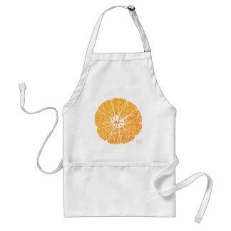 Naranja usted alegre… delantal