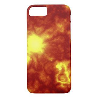 Naranja y amarillo funda iPhone 7