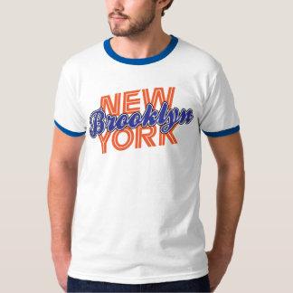Naranja y azul de Brooklyn NY Camisas