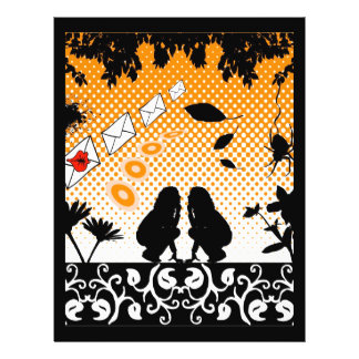 naranja-y-chicas folleto 21,6 x 28 cm