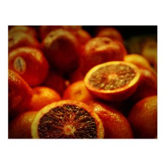 Naranjas de sangre postal
